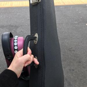 バイオリンの調整へ
