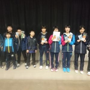 カイクニ団体戦中学生の部、女子2位、男子A3位、男子D2位トーナメント2位!