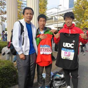 神戸マラソン初サポート