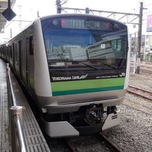 【撮影記:5/19】JR横浜線/根岸線直通「大船行」の「横浜線」車両を「八王子」で撮る