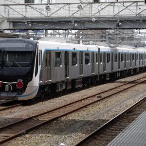 【撮影記】東急3020系4両分(3122F)の「甲種輸送車両」