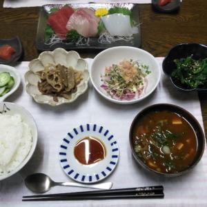【晩ごはん】外食三昧のあとのほっこり和食♡