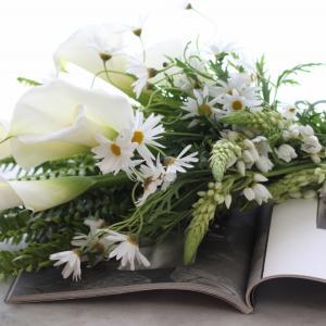 お花の配送、サロンにて受け取り、はじめます