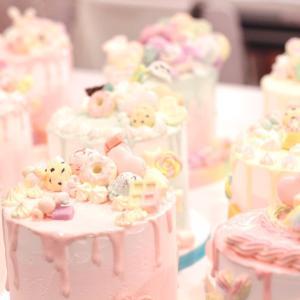 可愛さ溢れるドリップケーキが完成 ♡東京1期日曜クラス