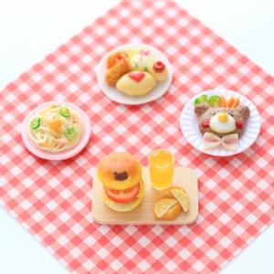 kawaii ♡ ハンバーガーセットが完成