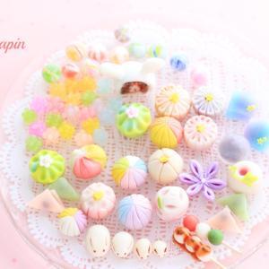 色とりどり♡可愛いフェイク和菓子