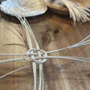 ラタン編み