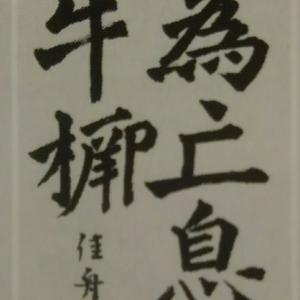 書道生活6月号の写真版