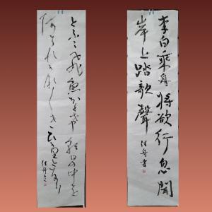 新日本書道 書友会5月号の競書