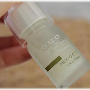 べとつかずしっとり!癒し系の香り!para spaハンドオイル-シトラスフローラル-