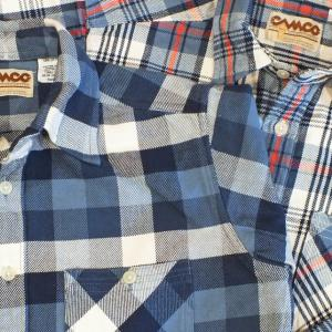 2019AW CAMCO HEAVY WEIGHT FLANNEL SHIRTS