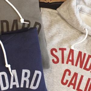 STANDARD CALIFORNIA PULLOVER HOOD SWEAT WITH LOGO