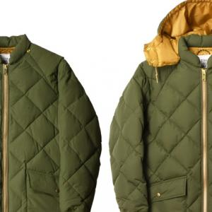 STANDARD CALIFORNIA CLASSIC QUILTED DOWN JACKET