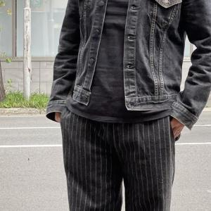 別注 557 DENIM JACKET(3rd MODEL) BLACK