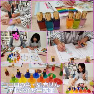 色の意味や効果を学び、色の持つ力を活かしてココロも日常も変える【ココロの色処方せんアドバイザー】
