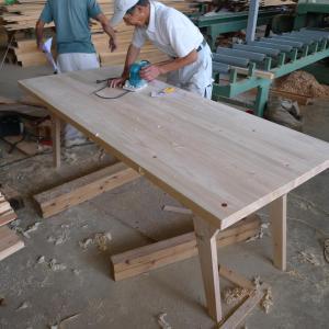 ひのきのテーブル