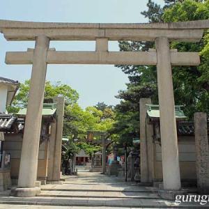 岸城神社 (大阪 岸和田市) 再詣