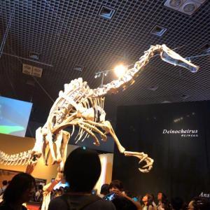上野で恐竜博と、月島もんじゃ