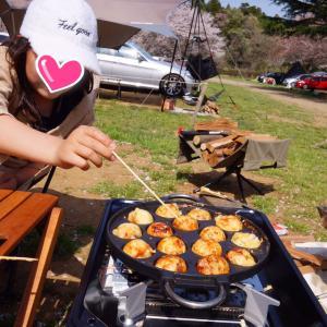 お花見キャンプ♪成田ゆめ牧場③