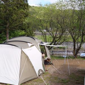 GWキャンプ♪鬼怒川温泉オートキャンプ場①