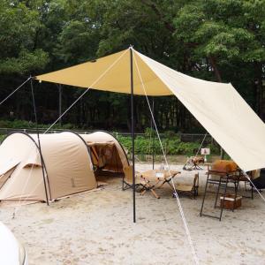 那須りんどう湖ファミリー牧場でキャンプ①