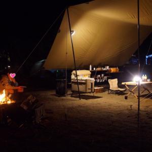 那須りんどう湖ファミリー牧場でキャンプ②