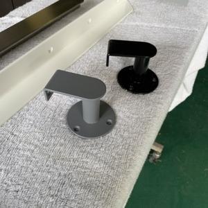階段手すり施主施工とオリジナルアイアン手すりブラケット