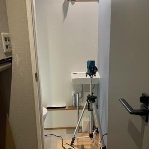 1階トイレ 造作収納家具