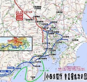 秀吉の小田原征伐~水軍による下田城の戦い