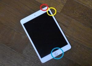 「iPadが真っ黒になりました」~強制復活の手順