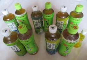 ペットボトル「お茶」のお値段&健康のために