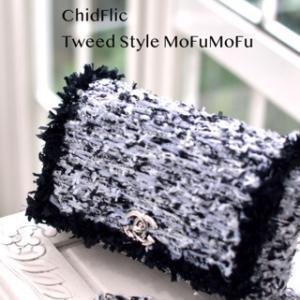 Chicflic tweed style & mofumofu bag