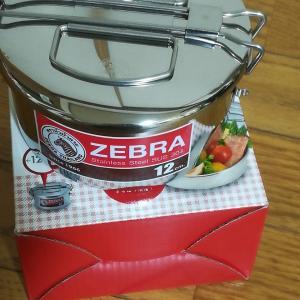 ゼブラの弁当箱
