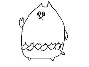 【画像】見ないで描くと絶対似ないポケモン