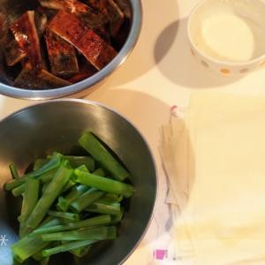 材料3つ☆鰻を使った簡単レシピ