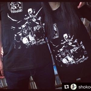 【Tシャツ】The Swap Born Assassinns (Drums)