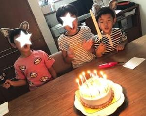 11才の誕生日とサムライエッグ