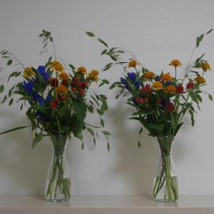 エントランス 今週の花