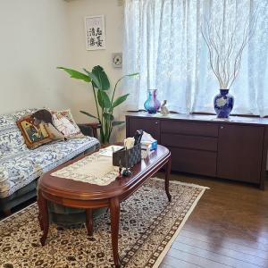 【ソファ捨てました】使わない家具は潔く処分!本当に必要な家具をお部屋に。