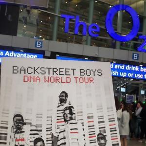Backstreet Boys(バックストリートボーイズ) DNAワールドツアーin UK