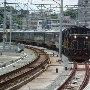 ななつ星in折尾駅。2021年7月13日(火)