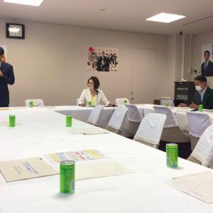 自民党「二輪車問題対策プロジェクトチーム)に出席