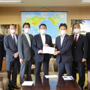 議員連盟「保守団結の会」で岸田文雄政調会長に申し入れ