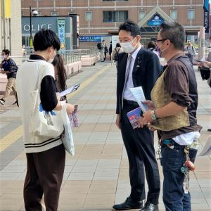 「北朝鮮による拉致被害者全員奪還」のための街頭活動