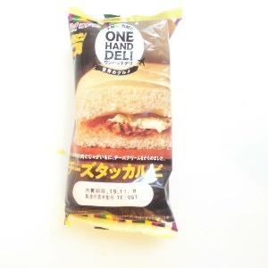 ONIGIRI MEMORY(おにぎり記録)~ONE HAND DELI(ワンハンドデリ・チーズダッカルビ) &ぬれおかきみたいな蒸しパン(新潟県産米粉100%使用)@神戸屋