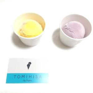 ICE CREAM WEEK!!(アイスクリーム部)×PUMPKIN LOVE(かぼちゃ愛)・紫芋ミルク(シナモン&黒糖)&パンプキンキャラメルTOMIHISA ICE CREAM(トミヒサアイスクリーム) ・#紫芋ミルク ・#パンプキンキャラメル