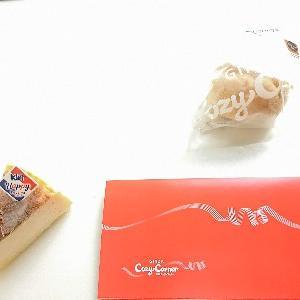 KIRI CREAM CHEESE(キリ・クリームチーズ)監修・とろけるバスクチーズ ジャンボシュークリーム (チーズティー) @COZY CORNAR(銀座コージーコーナー)