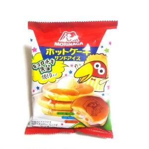 PUDDING WEEK!!(プリン大収穫)×ICE CREAM WEEK!!(アイスクリーム部)・森永製菓監修~キョロチキ先輩のホットケーキサンドアイス(メープル&プリン風クリーム)~