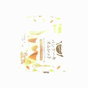 PUDDING WEEK!!(プリン大収穫)~パンケーキオムレット(キャラメルホイップ&りんごクリーム)&まるでプリンクリームパン@敷島製パン(PASCO)