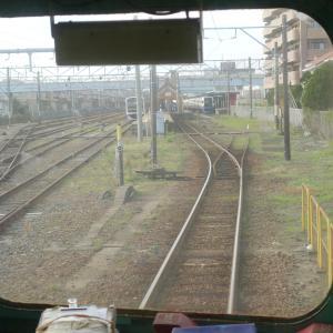 銚子駅に到着シーン